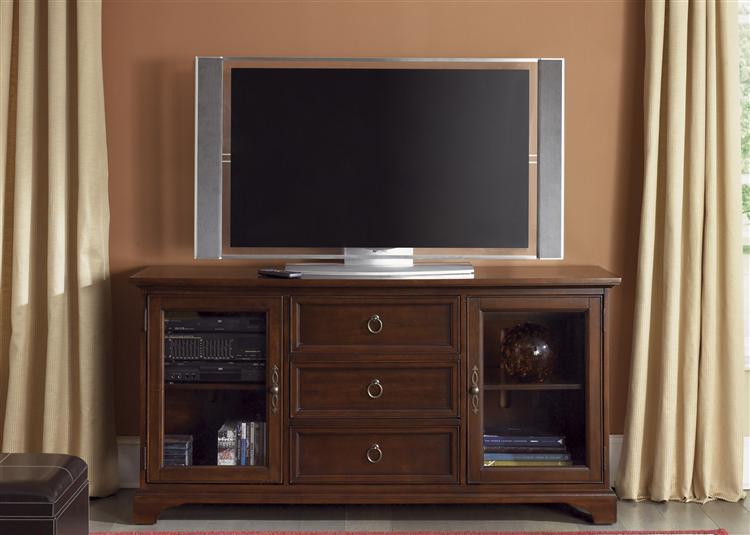 Classic Cherry Tv Console Brandon House