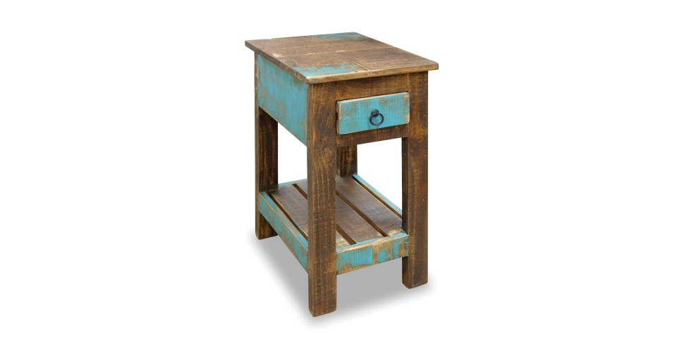 Chairside Table Furniture Direct Urban Gold Chairside Table Great American Home Store End Table