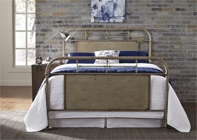 Vintage Metal Bed