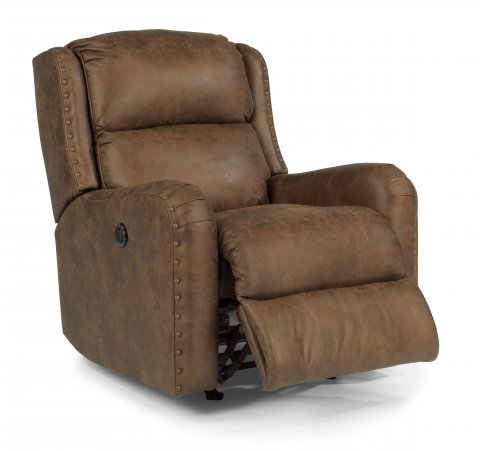 cameron flexsteel power wall hugger recliner