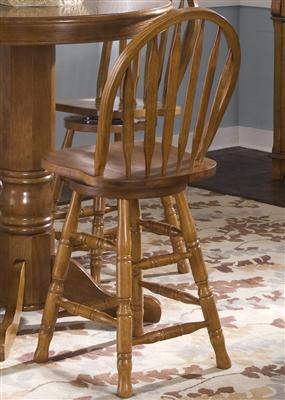 "nostalgia 24"" swivel stool"