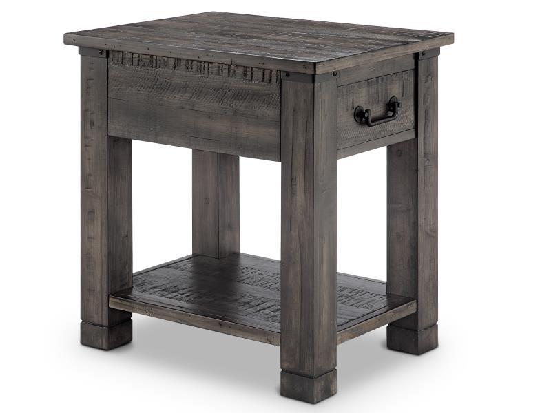 Delightful Abington Rectangular End Table
