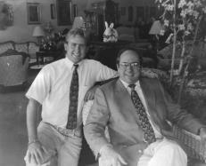 David Carter and son Brandon Carter