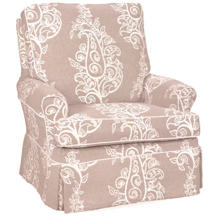 chair, swivel glider, four seasons