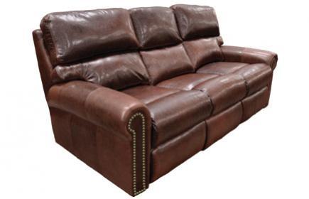 leather, omnia, reclining, sofa