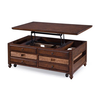 cocktail table, magnussen, lift top
