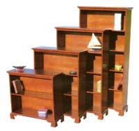 bookcase, bookshelf, solid wood