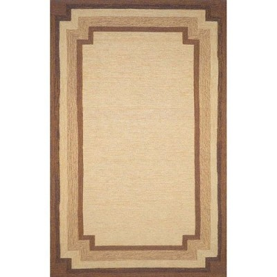 area rug, border rug, neutral, rug