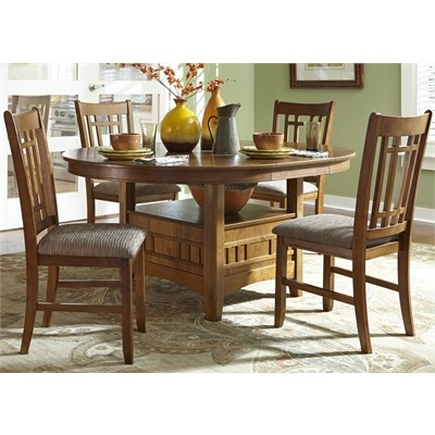 casual dining, pedestal table