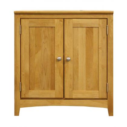 alder cabinet, printer stand, solid wood