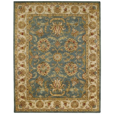 eloquent garden blue rug