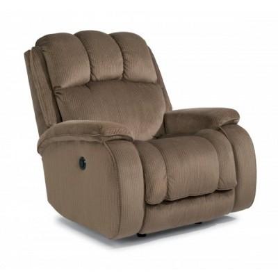 huron flexsteel power rocker recliner