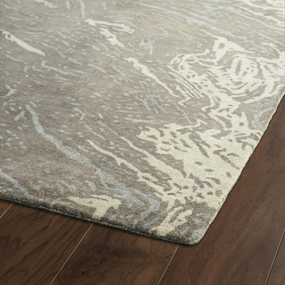 Brushstrokes Brown Rug