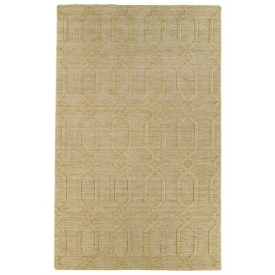 Imprints Yellow Rug