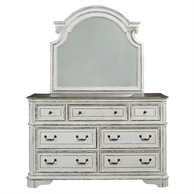 7 Drawer Dresser , Mirror